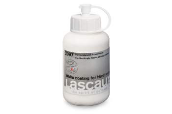 Lascaux White coating for Hard resist